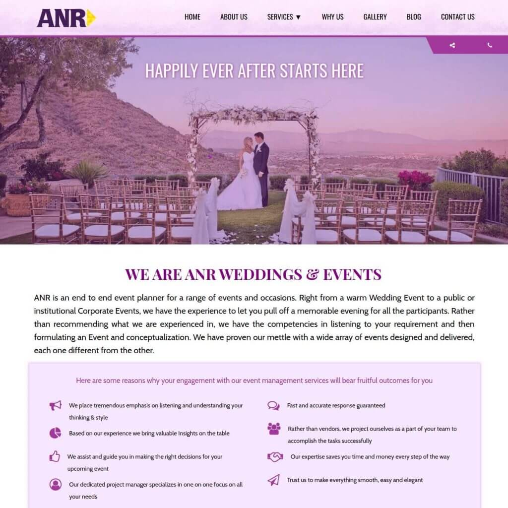 ANR Weddings & Events