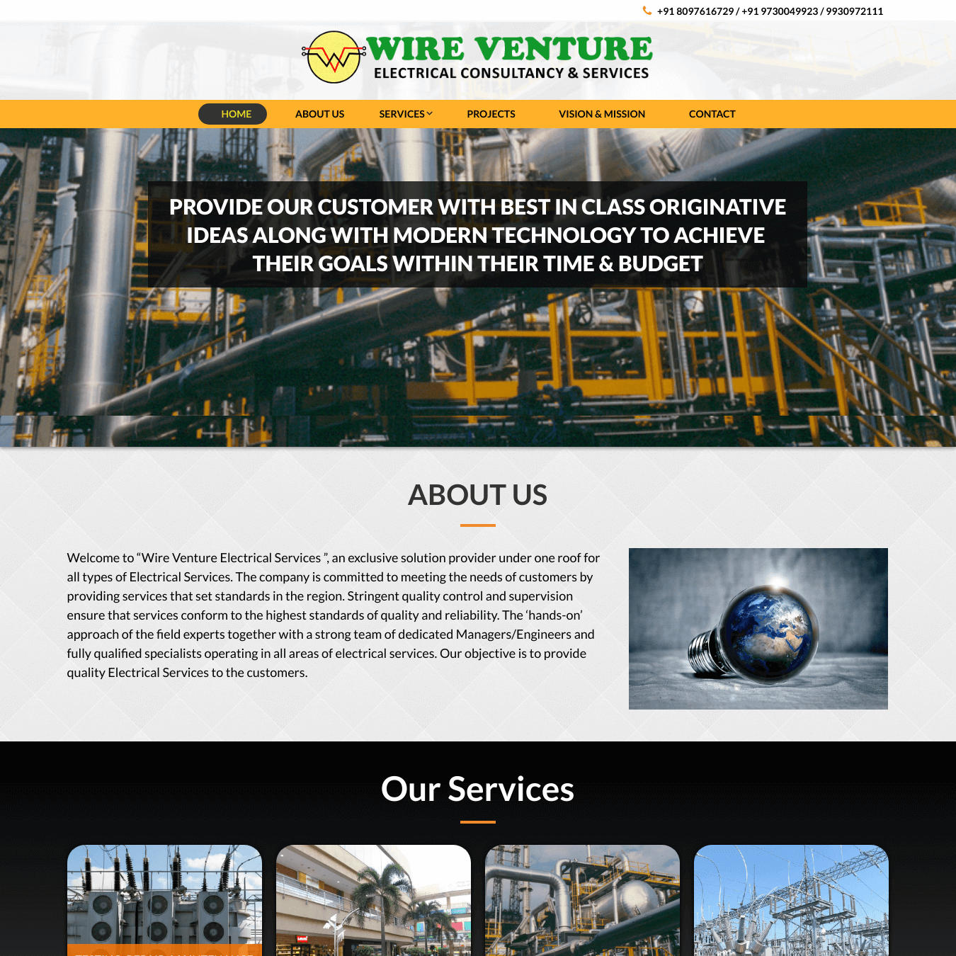 Wire Ventures Electricals